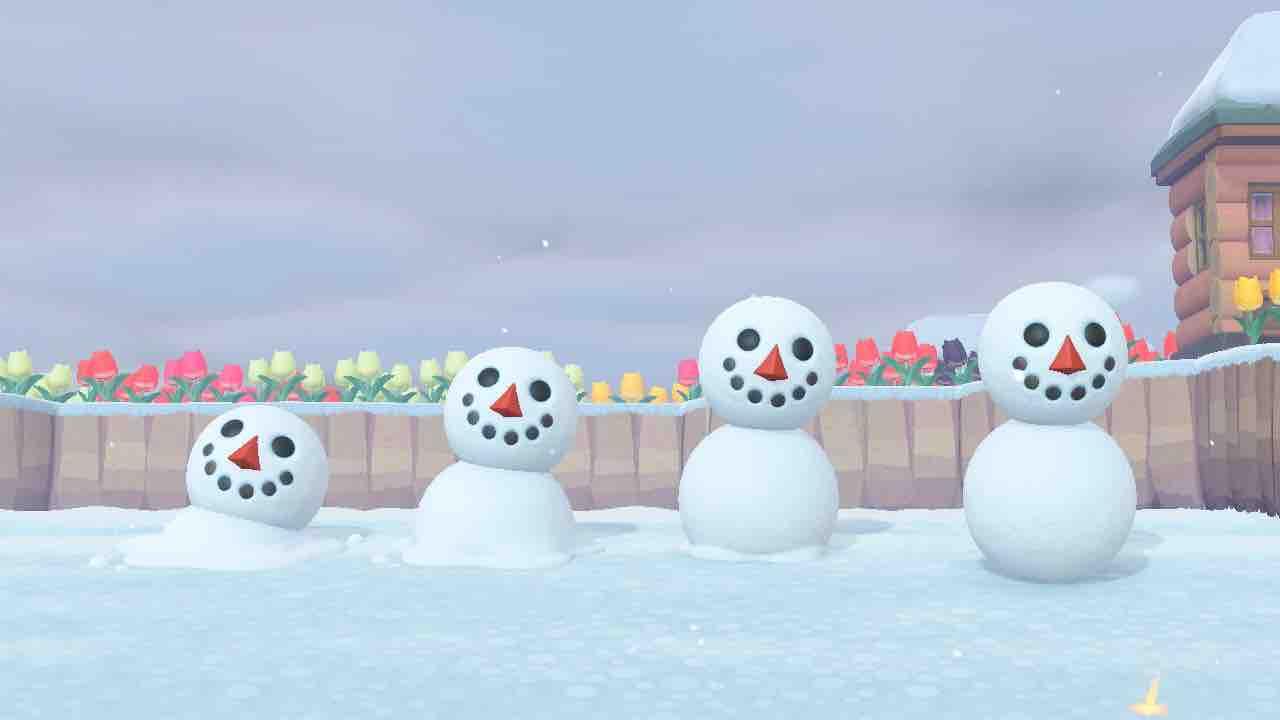 【あつ森】雪だるまのセリフに涙…【あつまれ どうぶつの森】
